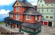 """Bahnhof """"Gibtsnich"""", 3D, Spur 1"""