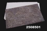 Strassenplatte gebogen, 250x150x5 mm, Spur 1